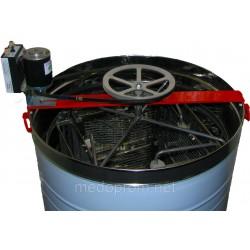 Медогонка 4-х рам Нержавеющая с ременным электроприводом