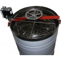 Медогонка Нержавеющая 4-х рам РКС с ременным электроприводом