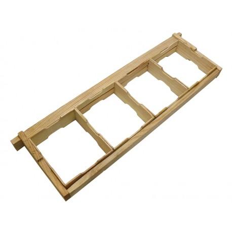 Комплект рамки для сотового меда 435Х145 по 4 шт.