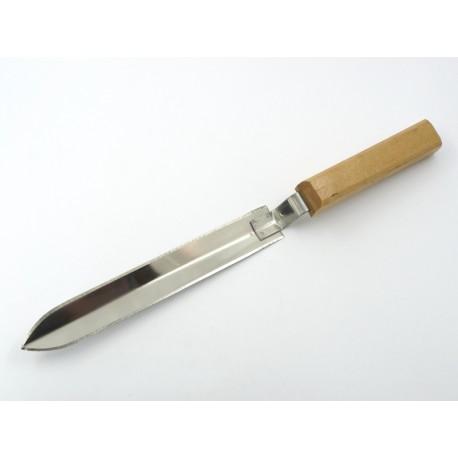 Нож пасечный угловой