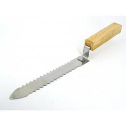 Нож пасечный зубчатый