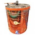 Медогонка 4-х рамкова поворотна нержавіюча сталь (чарунка)