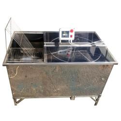 Медогонка диагональная 4-х рамочная автомат нержавейка, Бистар