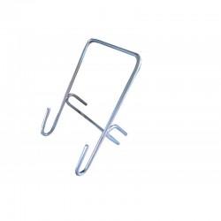 Кронштейн для ведра (под слив мёда) Ч/М с полимерным покрытием
