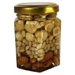 """Мед з горіхами асорті """"Люкс"""" 230г"""