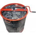 Медогонка 4-х рамочная с поворотом кассет, нержавеющая