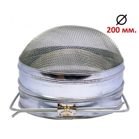 Фільтр для меду оцинкований D-200мм
