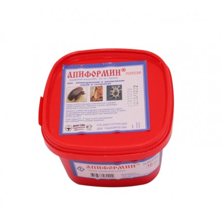 Апиформин акарицидные полоски 10 шт