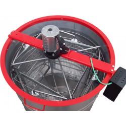 Медогонка 4-х рамочная алюмоцинковая электрическая