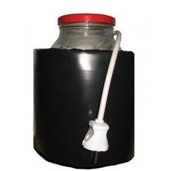 Декрісталлізатор, розпуск меду в банку 3л. Розігрів до + 40 ° С