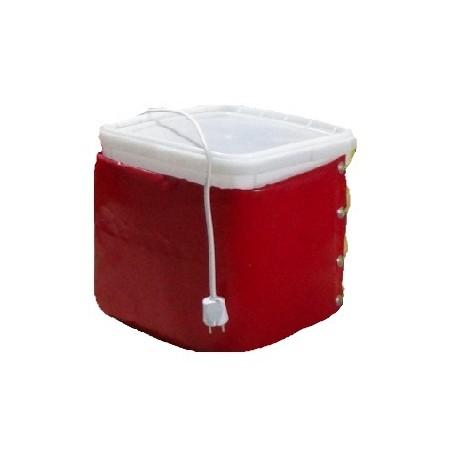 Декристаллизатор, роспуск меда в куботейнерах 23 л. Разогрев до +40°С.