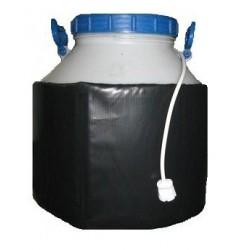 Декристаллизатор, роспуск мёда в пластиковой ёмкости 50 л. Разогрев до + 40°С