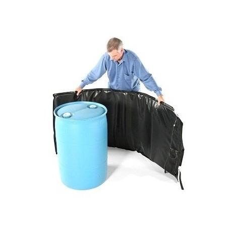 Декристаллизатор, роспуск мёда в бочке 150 л. Разогрев до +40°С