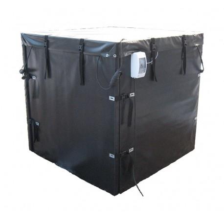 Декристаллизатор камера 1250 мм х 1250 мм., на 1000 кг. Разогрев до +40°С