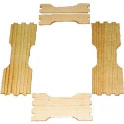Заготовка рамки для сотового меда под рамку 435Х145 по 6шт.
