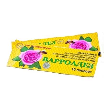 Варроадез (амитраз. масло кориандра), 10 дощечек, Агробиопром