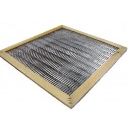 Разделительная решетка 12 рамочная металлическая