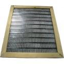 Розділові ґрати 10 рамкова металева